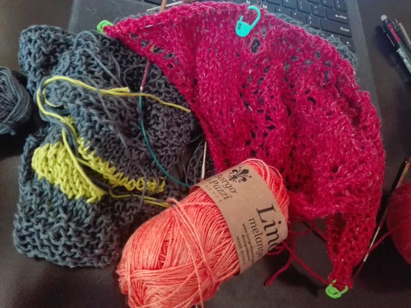Lavoro a maglia in progress
