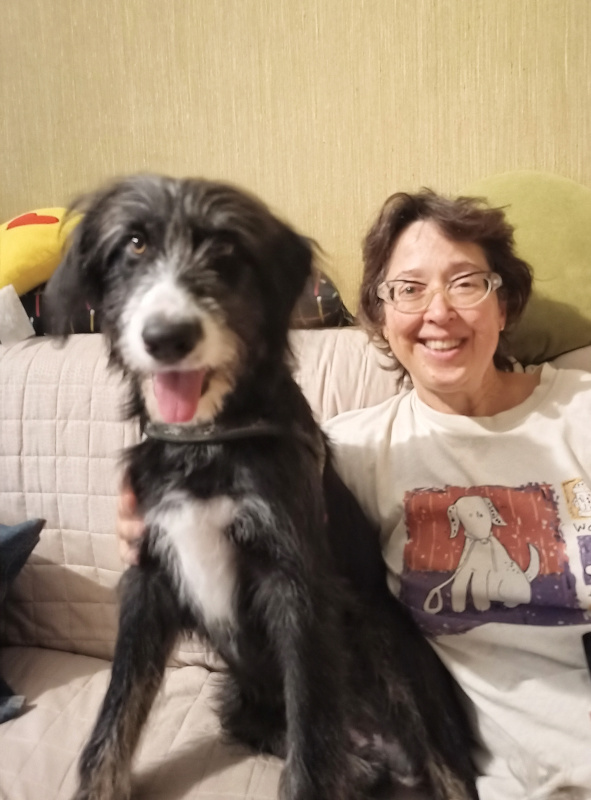E' arrivato Lachi il nostro nuovo cagnolone.